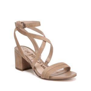 Sam Edelman Sammy Ankle Block Heel Sandals Size 5